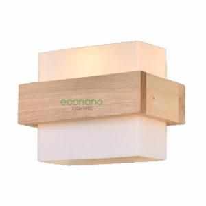 Đèn tường thủy tinh gỗ ECO-TT0103