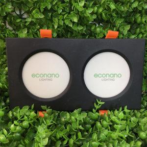 Đèn âm trần đôi ECO00010