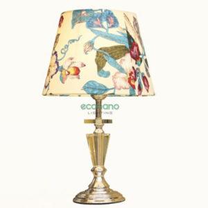 đèn bàn chụp hoa