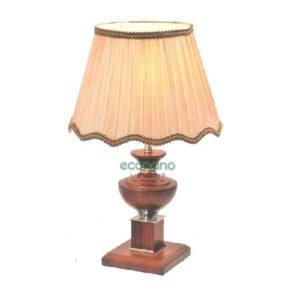 đèn bàn cổ điển đế gỗ