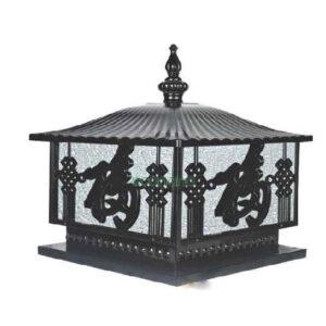 Trụ cổng hoa văn Trung Hoa