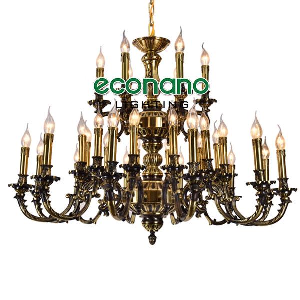 đèn chùm cổ điển quảng ninh