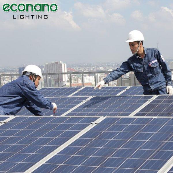 lắp điện mặt trời áp mái giá rẻ tại hải phòng