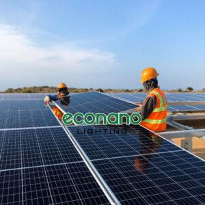 lắp điện mặt trời áp mái tại hải phòng