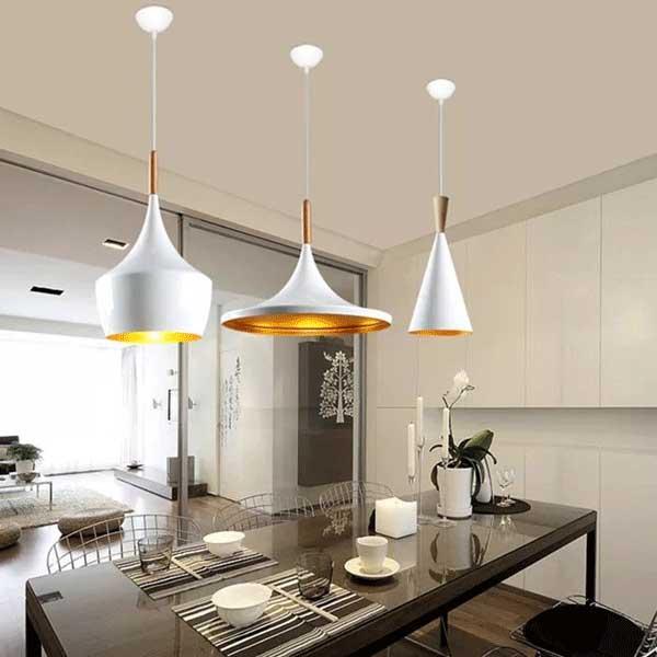 đèn trang trí trần phòng ăn cao cấp hải phòng