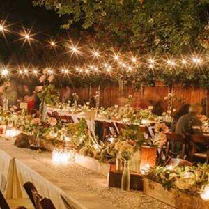 đèn hiệu ứng tiệc cưới hải phòng