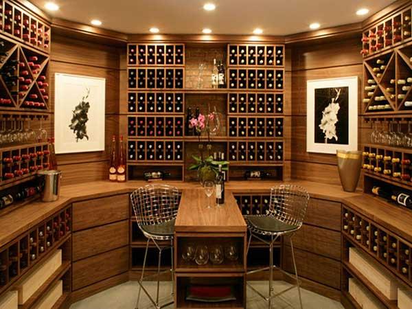 thiết kế đèn hầm rượu hợp chuẩn ở hải phòng