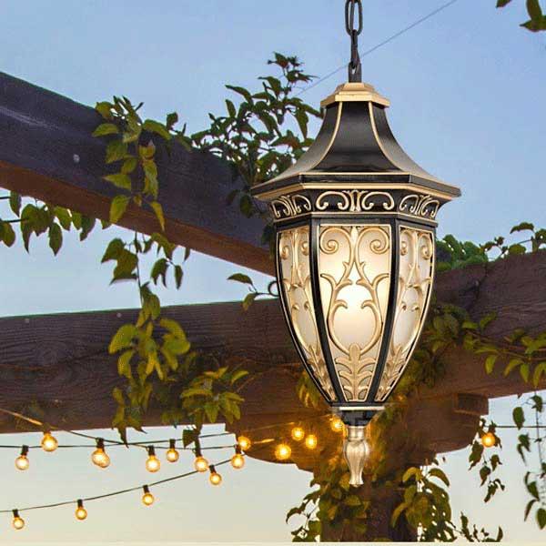 đèn trang trí mái vòm giá rẻ hải phòng