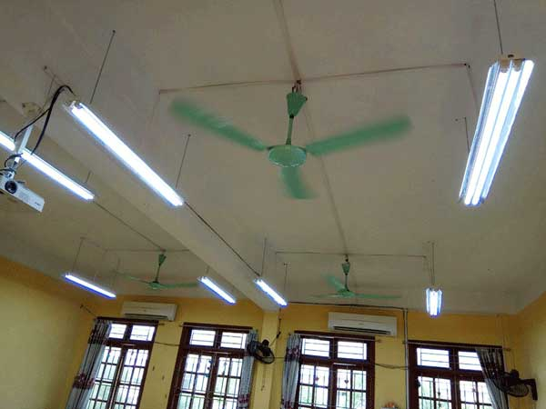hệ thống ánh sáng học đường giá rẻ tại hải phòng