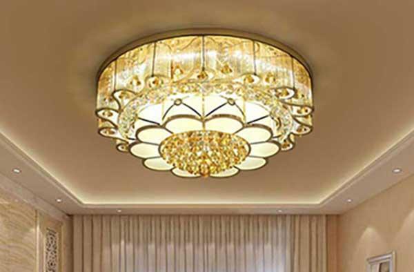 đèn ốp trần trang trí tân cổ điển tại hải phòng